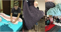Sip & Create Chunky Blanket Workshop