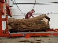 Good Wood Guys Sawmill Demonstration