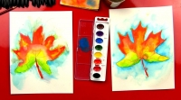Youth Watercolor Class (Grades 3-8)