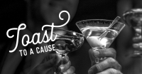 Toast to a Cause with Pet Paw See