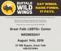 Eat Wings, Raise Funds for the Center