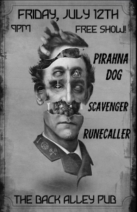 Piranha Dog, Scavenger, Runecaller