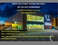 Great Falls Public Schools Job Fair