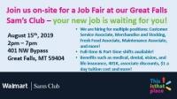 Sam's Club - Great Falls Job Fair