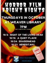 Horror Film Fright Nights