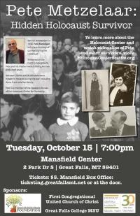 Pete Metzelaar: Hidden Holocaust Survivor