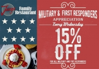 Military & First Responders Wednesdays