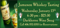 Jameson Whiskey Experience and Tasting