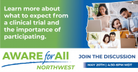 Virtual Health Event: AWARE for All ? Northwest