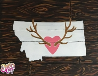 Heart Antlers