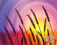 Sunrise Wheat Painting Class