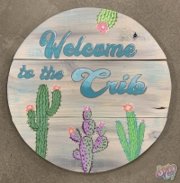 Welcome to the Crib Sign Painting Class