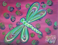 Dragonfly Dizzy Paint Class