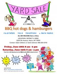 Yard Sale & BBQ