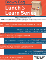 Brown Bag Lunch & Learn