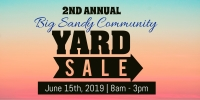 Big Sandy Community Rummage Sale- 2nd Annual!