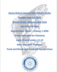 Havre Rotary Fathers Day Kids Fishing Derby
