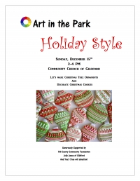 Art in the Park: Holiday Edition