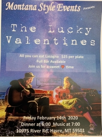 The Lucky Valentines at Montana Style Events
