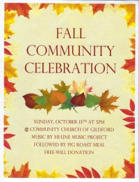 Fall Community Celebration