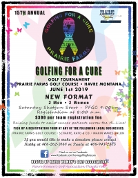 Golfing for a Cure