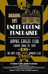 Roaring 20's Underground Fundraiser