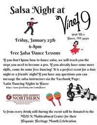 Salsa Night at Vine 19