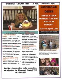 Candace Dess Dinner & Silent Auction Benefit