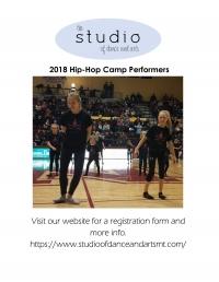 Studio of Dance & Arts 2019 Hip-Hop Camp