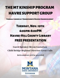 The MT Kinship Program: Havre Support Group