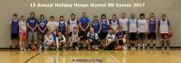 HPS Education Foundation 14th Annual Holiday Hoops Blue Pony Alumni BB
