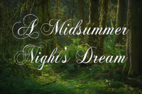 Auditions for A Midsummer Night's Dream