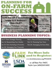 Planning On Farm Success Workshop