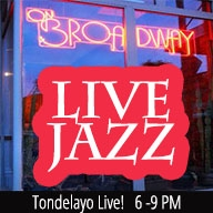 Tondelayo Live! at ON BROADWAY