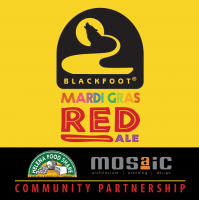 Mardi Gras Red Release Party for Helena Food Share