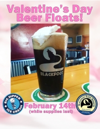 Beer Floats at The Blackfoot