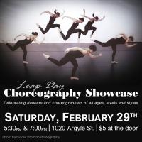 Leap Day Choreography Showcase