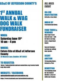 Walk & Wag Dog Walk Fundraiser