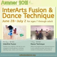 Modern/Contemporary & Jazz/Lyrical Dance Technique Camp