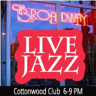 Cottonwood Club Live! at ON BROADWAY