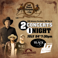 Last Chance Stampede Night Show - Clint Black & LOCASH