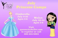 Princess Camp Mulan