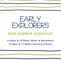 Early Explorers Sensory Science