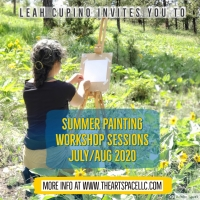 Summer Outdoor Painting Workshop Sessions