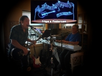 Frigo and Pederson at Highlander Bar & Grill