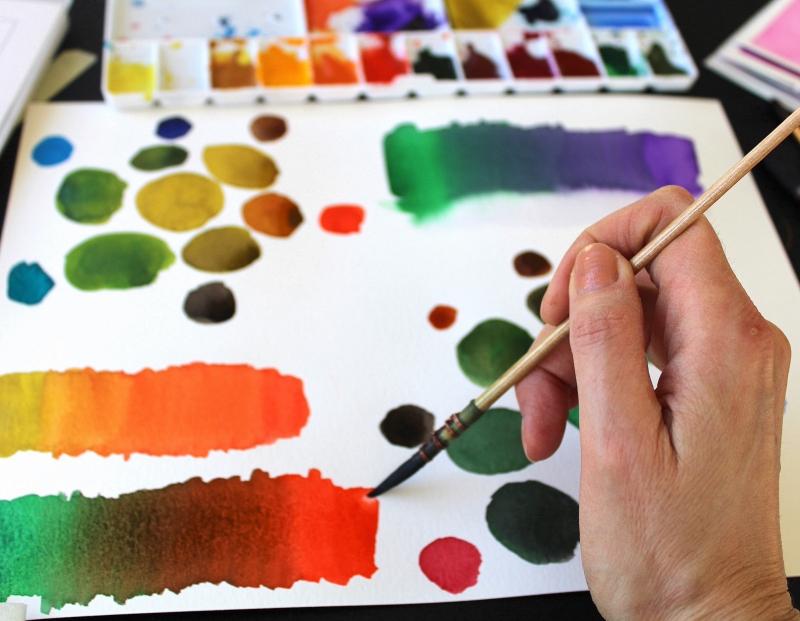 Watercolor Basics Class