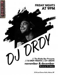 DJ DRDY @ The Rialto