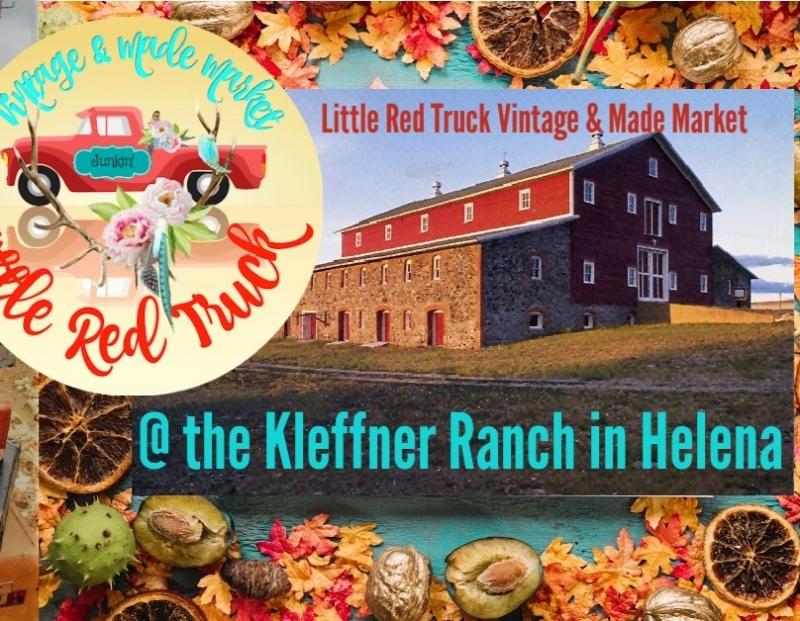 Little Red Truck Vintage Market at Kleffner Ranch
