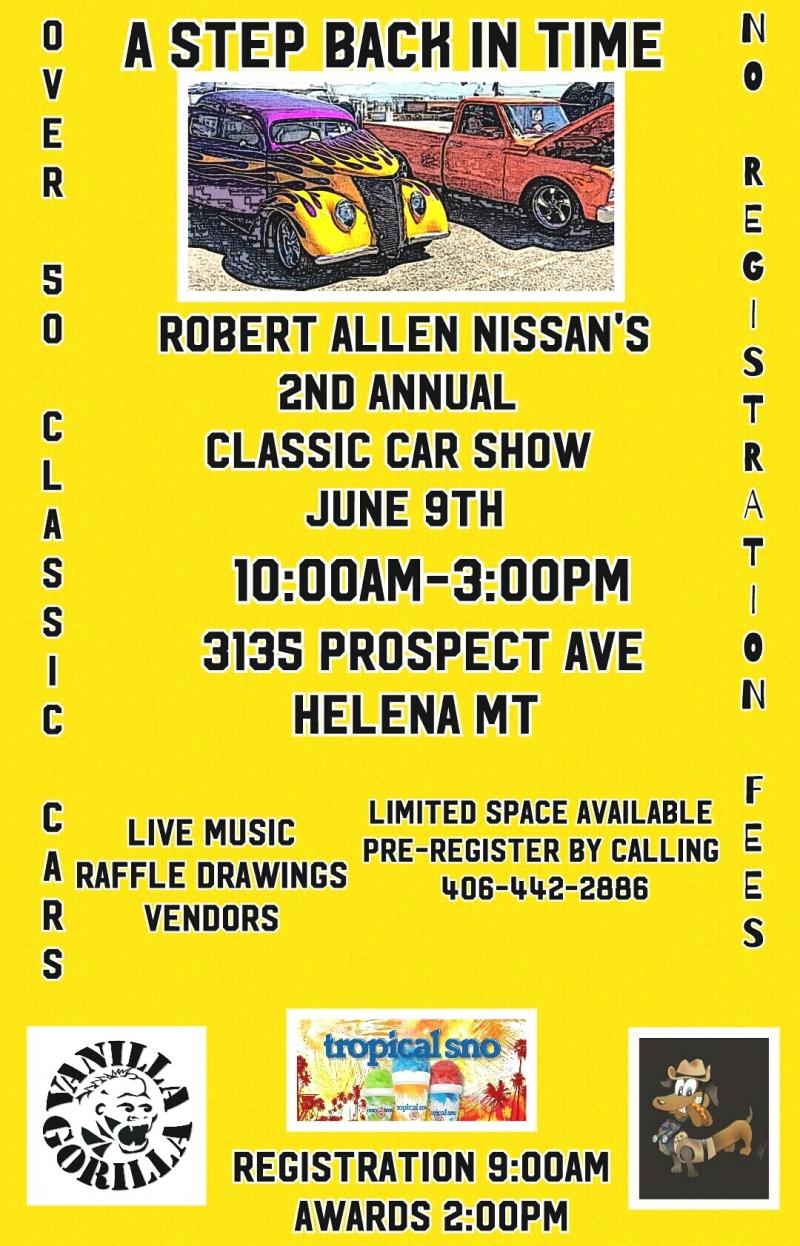 Robert Allen Nissan >> A Step Back In Time 06 09 2018 Helena Montana Robert Allen