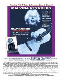 MalvinaSpirit concert